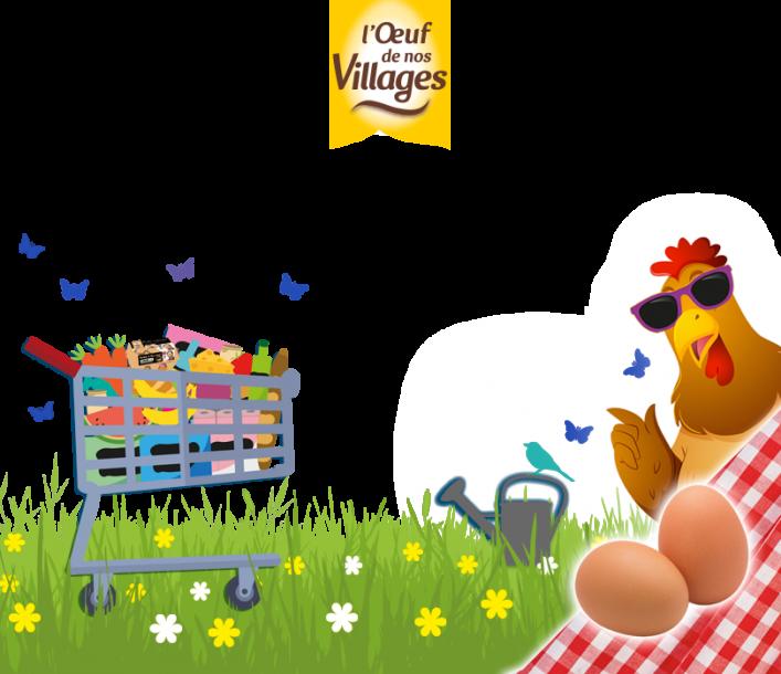 Cet été, découvrez les œufs de vos régions !