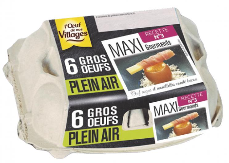 Recettes d'œufs : la Collection Hiver est arrivée au rayon des œufs
