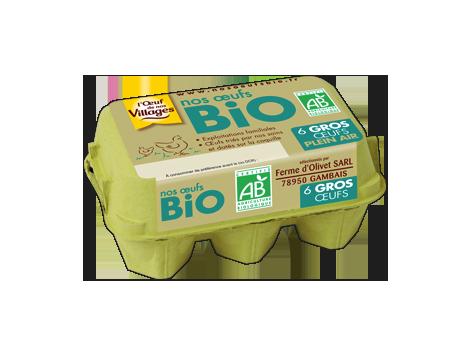 Nos œufs bio